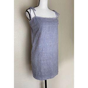 Urban Renewal Remnants Linen Tie-Shoulder Dress